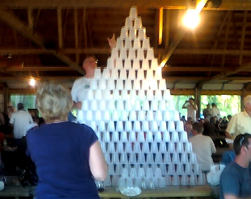 Beer Glass Pyramid